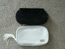 new dior clutch bags black / white