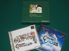 Chrono Memorial Box - Chrono Trigger & Chrono Cross - PSX - Japan - Very RARE