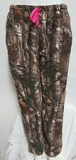 WOMENS REALTREE CAMO PANTS LOUNGE SOFT COZY NEW XLARGE 16/18 WITH POCKETS