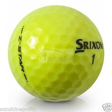 24 NEAR MINT Srixon Z Star Tour YELLOW AAAA Used Golf Balls