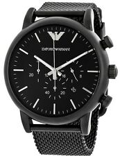Emporio Armani Sport Chronograph Black Mens Watch AR1968