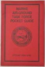 1990 USMC Marine Air Ground Task Force Pocket Guide Book Atlantic LFTC 0305-3