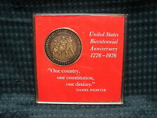 "1976 Publisher Clearing house Bicentennial Medal with case 1 1/2"" Dia"