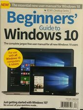 Beginners Guide to Windows 10 UK Summer 2016 Computers Tablets FREE SHIPPING sb