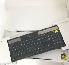OEM Logitech Wireless Solar Ultra-thin Keyboard K750 w/ USB Unifying Receiver