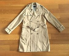 A.P.C. Belted Trench Coat Jacket Beige Size 36