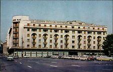 BUKAREST Rumänien București Romania Walachei color 1976 Gebäude Auto Parkplatz