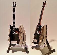 Mini Guitar Gene Simmons KISS axe bass  memorabilia chitarra GITARREN miniature