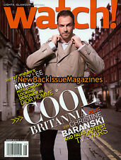 CBS Watch 8/13,Jonny Lee Miller,August 2013,NEW