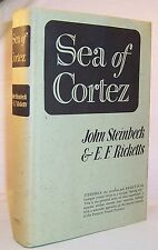 John Steinbeck and Ed Ricketts SEA OF CORTEZ Nice Hardcover Reprint in dj