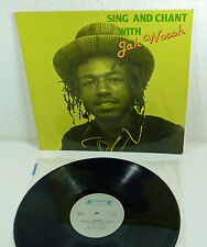 "JAH WOOSH ""Sing and Chant with Jah Woosh"" LP 80s ROADRUNNER Reggae"