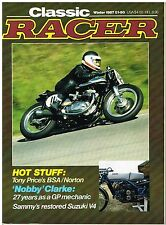 Classic Racer Winter 1987 Supercharged Gilera Suzuki V4 NSU DKW Excelsior CR110