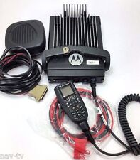 Motorola XTL5000 VHF HIGH POWER 110W RADIO COMPLETE WITH O3 HEAD ALL WIRING FIRE