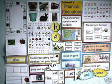 JOLLY FANTASTIC! BUMPER SET OF MY REALLY GOOD QUALITY PHONICS RESOURCES!