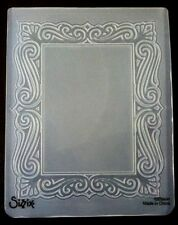 Sizzix Large 4.5x5.75in Embossing Folder VICTORIAN FRAME fits Cuttlebug & Wizard
