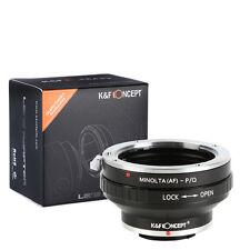 K&F Concept adapter for Minolta AF mount lens to Pentax Q camera