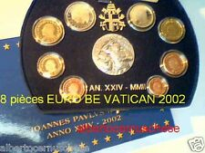 Fs BE PP proof 2002 8 monete 3,88 EURO VATICANO Vatican Vatikan Ватикан