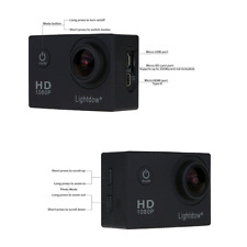 Lightdow LD4000 1080P HD Sports Action Camera Bundle with DSP:NT96650 Chip,