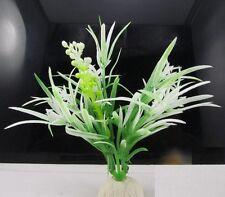 FD879 Artificial Grass Aquarium Decor Water Weeds Ornament Plant Fish Tank 1PC