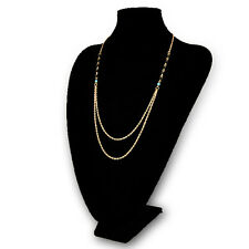 Bohemian Ladies Fashion Gold Plated Double Layer Necklace Clavicle Chain Jewelry