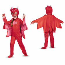 Disguise Owlette Classic Toddler PJ Masks Red Costume Medium 3T - 4T NEW