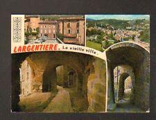 LARGENTIERE (07) CITROEN 2CV , RENAULT DAUPHINE & 4CV dans VIEILLE VILLE en 1981