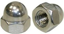 Stainless Steel M6 Acorn Cap Nut A2 30410 Pack