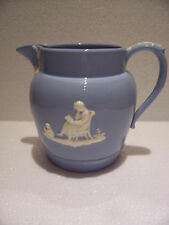 Wedgwood Blue Queensware Water Jug in excellent condition..