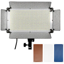 Neewer 500 LED Photo Light Panel, Diffuser, 2 Color Filters and 4 Dimmer Switch