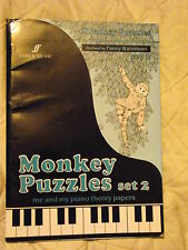 MONKEY PUZZLES SET 2 - ME & MY PIANO THEORY PAPERS REVISED BY FANNY WATERMAN