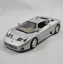 Bugatti 11GB Bburago 1:18 (1991) Silber / Silver