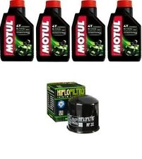 KIT OLIO MOTUL 5100 10W40+HF202 Honda VT700 C Shadow (USA) USA84-85