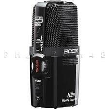Zoom H2n Handy Portable Digital Audio Field Recorder with Stereo Mics & USB NEW