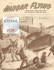CD File High Resolution Scans 4 issues Hangar Flying P-38 Lockheed Dick Shaw