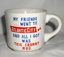 Mug Friends Went To Atlontic Atlantic City Crummy Mug Misspelled Rare Coffee Tea