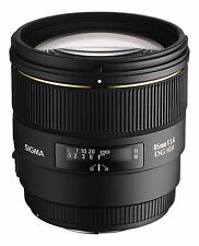 Sigma 85mm f/1.4 EX DG HSM Lens - Canon Fit - UK STOCK