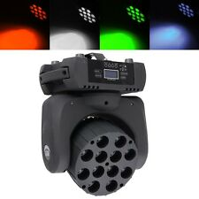 12x10W 4in1 RGBW LED Moving Head Beam Light DMX Disco Party Club Pub Show Band