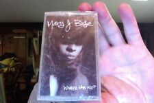 Mary J. Blige- What's the 411?- new/sealed cassette tape