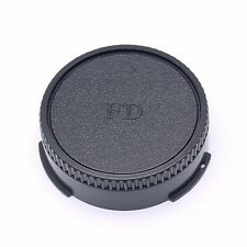 New Rear Lens Cap Cover Protector for all Canon FD NFD lens black