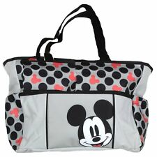 Disney Mickey Mouse Small Polka Dot Tote Diaper Bag