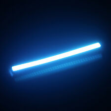 New 2PC Ice Blue 12V COB LED Auto Car Daytime Running Light Strips DRL Lamp Bars