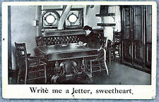 Write Me a Letter Sweetheart PC 1909