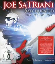 "Joe Satriani ""satchurated: Live in Montreal"" BLU-RAY NUOVO"