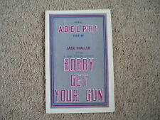 1938 Bobby Get Your Gun, Adelphi Theatre - See photo for cast