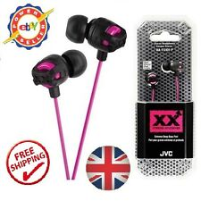 JVC HA-FX101 XX xtreme xplosives écouteurs in-ear headphones rose iPhone MP3