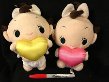 CHOOSE ONE~WOOPIES ANGEL BABY HEART PLUSH-ship free