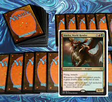 mtg RED GREEN ATARKA DRAGONS DECK Magic the Gathering rare cards gruul