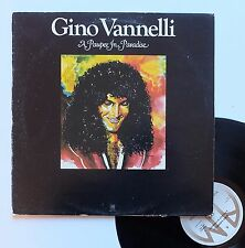 "Vinyle 33T Gino Vannelli  ""A pauper in paradise"""