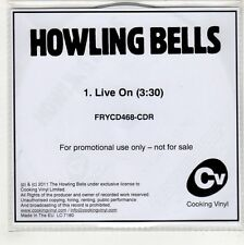 (GQ923) Howling Bells, Live On - 2011 DJ CD