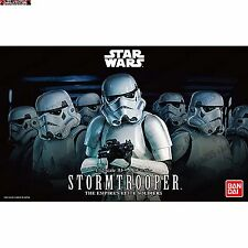 STORM TROOPER STAR WARS Figura SCALA 1/12 MODEL KIT BANDAI